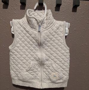 Carter's cotton zipup vests